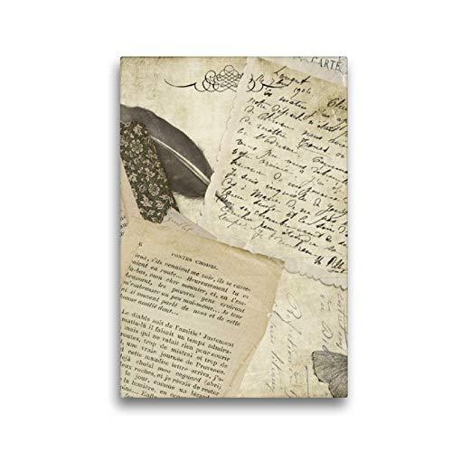 Calvendo Premium Lienzo de 30 cm x 45 cm de Alto, un Motivo del Calendario Vintage Mundos, Cuadro sobre Bastidor, Listo para Lienzo auténtico, impresión en Lienzo, Arte