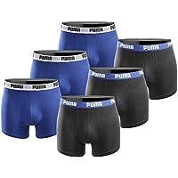 PUMA Herren Boxershort Basic Limited Black Edition 6er Pack