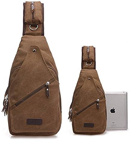 lemongirl Sling Brust Rucksack für Herren Damen, Unisex Schulter Crossbody Tasche für Reisen Wandern Camping Radfahren Mini Adult Handtasche Rucksack One Size (Element Reiniger)