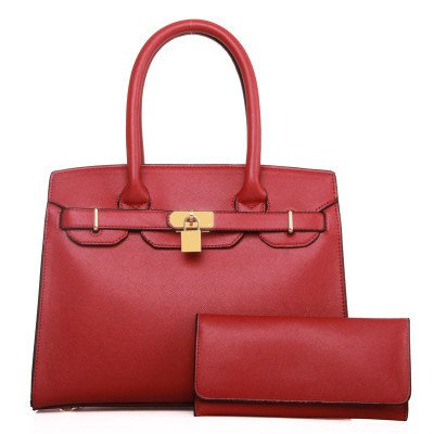 Mefly Europäischen Luxus Handtaschen Platin All-Match Temperament Claret