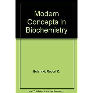 Modern Concepts in Biochemistry