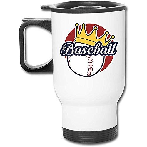 Little Yi Baseball Edelstahl Travel Mug Becher Tee Tasse Kaffee Auto Tasse
