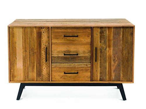 Buffet credenza industrial design ECO CHIC legno massello collezione RS Recycled Wood - Novità 2017