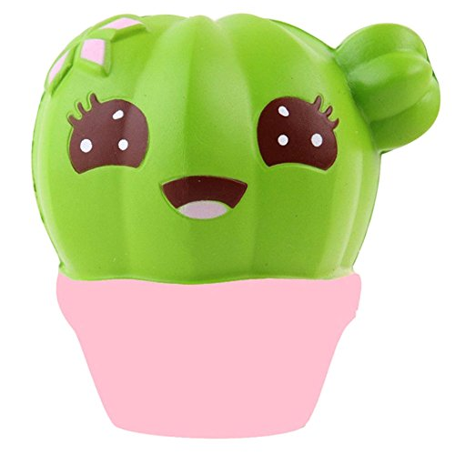 y Spielzeug Langsam Rising Soft Squishies Tier und Essen Dekompression Squeeze Spielzeug Stress Relief Dekompression Spielzeug H02 Kaktus (10 Jahre Alte Halloween-spiele)