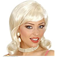 Blonde 50s wig for women (peluca)