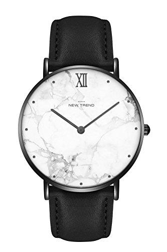 New Trend Unisex Armbanduhr Damen-Uhr Herren-Uhr Trend-Uhr Blogger-Uhr Analog Quarzwerk elegantes Marmor-Design Armband Leder Metall verschiedene Farben