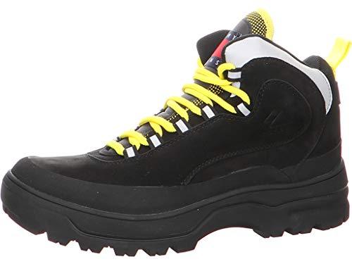 Tommy Hilfiger EM0EM00301 EM0EM00301 990 752633 - Stivali da Uomo, Colore: Nero, Nero (Nero), 41 EU