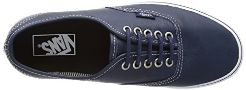 Vans Authentic, Sneakers Basses Mixte Adulte Bleu (Dress Blues/Stripes)