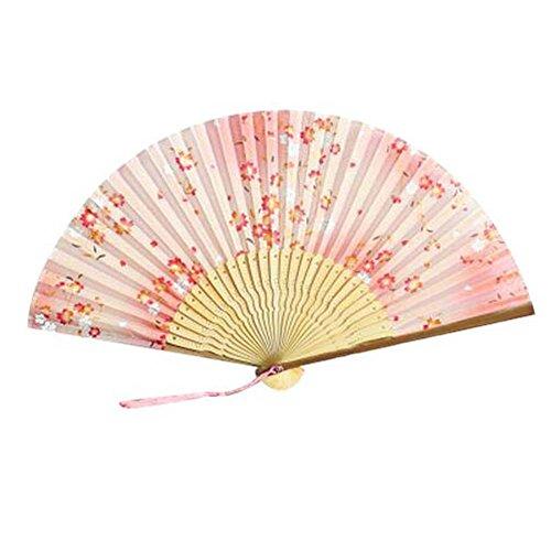 Blancho Retro Art-Chinesischer Ventilator für Frauen-beweglicher Handluxux-Art- und Weisefaltender Handventi