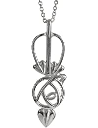 DWO227 Delicate Ortak Sterling silver Charles Rennie Mackintosh Pendant P270 Okrw25