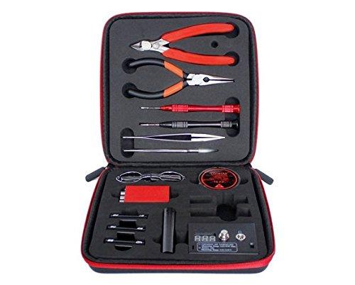 6 Tool-kit (- Coil Master 6in 1DIY-Coil Jig Tool Kit mit Ohm Meter DIY, Regenbogenfarben Werkzeug Sets Coil Jig Aufziehen DIY Tool Kit für Rabba RDA RTA)