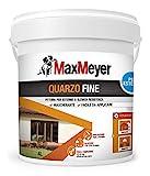 MaxMeyer 165025G500001 Pittura per Esterno Quarzo Fine Bianco 4 L