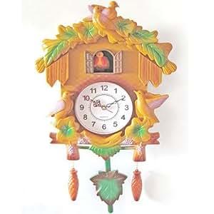 Coucou 41 cm plastique Chalet Pendule Horloge Enfant