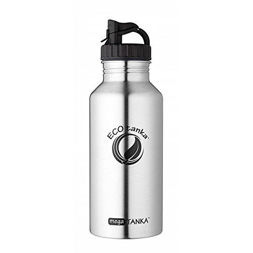 ECOtanka megaTANKA, 2000ml, Bottiglia/Borraccia in Acciaio Inox, Senza BPA, Ecologico, Durevole, Robusto, Molto Leggero