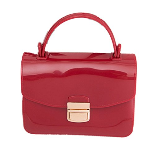 Eysee, Borsa tote donna verde scuro Red 17cm*12cm*7.5cm Red