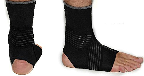 SaySure - Bandage Sports Foot Protector Ankle (SIZE : XL)