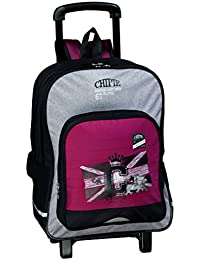 chipie voltage cartable bordeaux