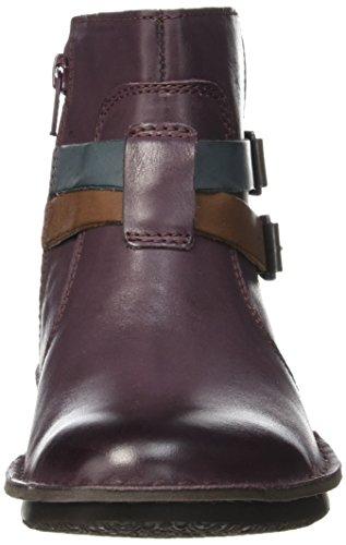 Kickers Damen Wouaso Klassische Stiefel, Knöchelhoch Violet (Violet Multico)