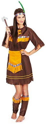 Indische Ideen Kostüm Für Billig - Inception Pro Infinite Einheitsgröße - Kostüm - Crossdressing - Karneval - Halloween - Indisch - Amerikanisch - Ethnisch - Braun - Erwachsene - Frau - Mädchen