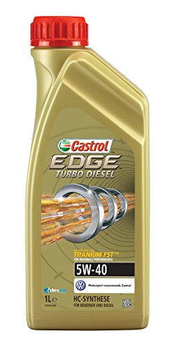 Castrol Edge 5W-40 Aceite sintético de motor