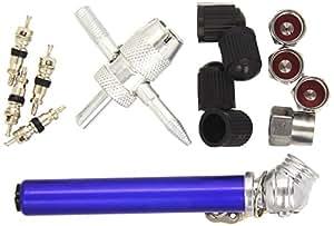 silverline 380568 reifenventil reparaturkit 14 tlg satz 0 7 3 bar auto. Black Bedroom Furniture Sets. Home Design Ideas