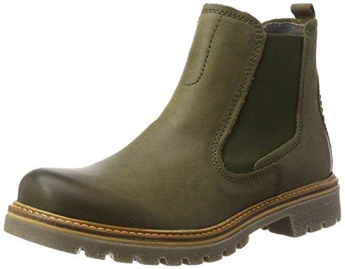 Rustikal Olive (camel active Damen Canberra 72 Chelsea Boots, Grün (Olive 1), 37.5 EU)