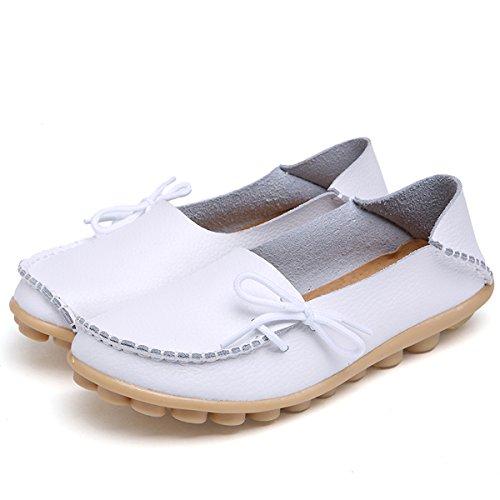 Bianche Fisca Basse Mocassini Donna Piatte Pantofole Da Scarpe wq0Ptv0 93fcc4215ce