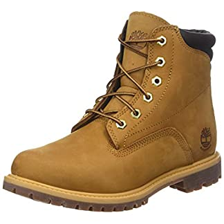Timberland Women's Waterville 6 Inch Basic Waterproof Lace-up Boots 8