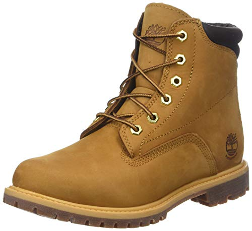 6 Amarillo Wheat Waterproof Basic Mujer Timberland para Inch Botas Waterville xR1Sn5Bqw