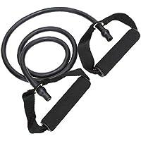 Látex elástico Banda de Resistencia de Pilates del Tubo de tracción por Cable Gimnasio Yoga de la Aptitud Equipo Verde