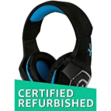 (CERTIFIED REFURBISHED) Redgear Dagger Professional Gaming Headphones with RGB LED Effect, Volume Controller and Retractable Microphone