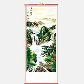 Mountain Landscape Chinese Scroll by Asia Dragon