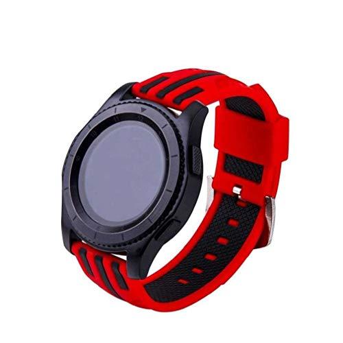 cinturino alla moda, fittingransamsung gear s3 frontier/s3 cinghie classic, accessorio di ricambio morbido bracciale in silicone cinturino da polso watch band per samsung gear s3 frontier/classic (c)