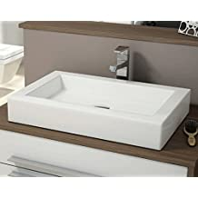 LAVABO SOBRE ENCIMERA ART&BATH KEFREN 600X400X100