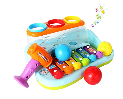 Musical Toys 1 Year Old , Baby Toy Enlighten Xylophone Child Baby Musical Instrument Toys Touch Play Keyboard Music Kids Gift
