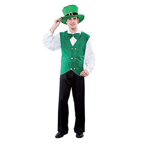 Irisch Kostüm st Patrick, Größe (Irlandaise Kostüm)