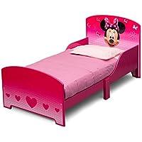 Disney Minnie Maus Kinderbett 145 x 76 x 74 cm Bett Kinderzimmer Jugendbett BB86710MN preisvergleich bei kinderzimmerdekopreise.eu