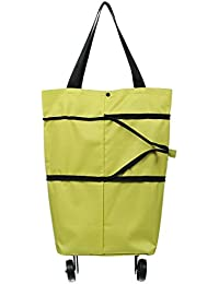 Y-BOA Caddy Chariot Course Pliable 2 Roues Sac à Main Shopping Durable Voyage (1#)
