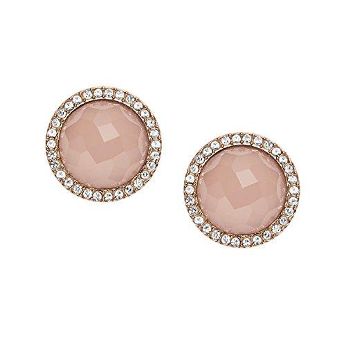 Fossil Damen-Ohrringe JF02498791, Rosa