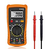 Digital Multimeter,Multimeter Voltmeter AC/DC Multi Tester,Digital Multimeter Messgerät mit LCD-Display Testet...