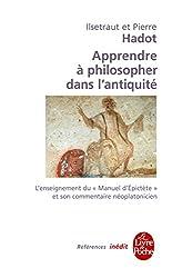 Apprendre à philosopher dans l'antiquité-inédit (Références)