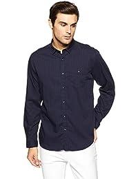LP Louis Philippe Men's Geometric Print Slim Fit Casual Shirt