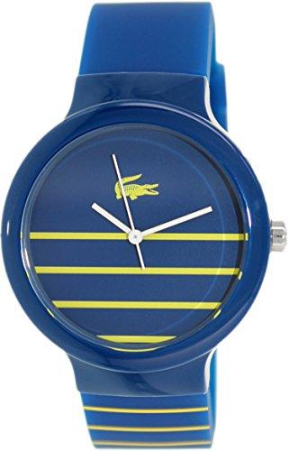 Lacoste Unisex Goa Blue Silicone Strap Watch 2020089