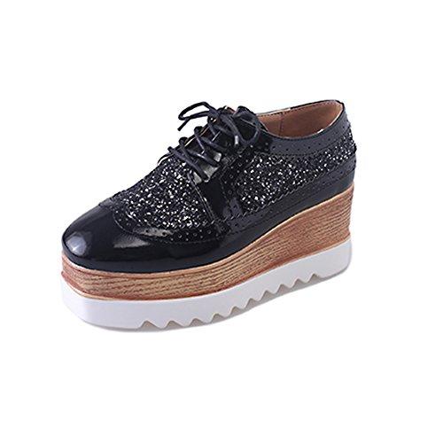 Plate-forme Ms cales chaussures au printemps/Étudiants coréens chaussures occasionnelles hautes Joker A