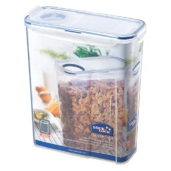 Sistema Cereal Storage Container with Clip, Blue, 4.2 ...
