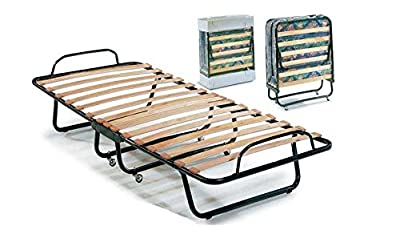 Idea Muebles Cama TNF Red plegable con colchón, cama plegable, cama plegable con colchón