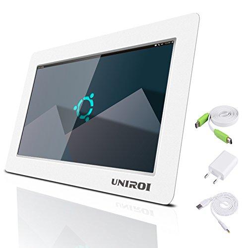 Monitor HDMI de 7 pulgadas, HD Pantalla LCD 1024*600 con Carcasa Ultradelgada para Todo Dispositivo con HDMI Entrada, Raspberry Pi 3 2 Modelo B B+ A A+