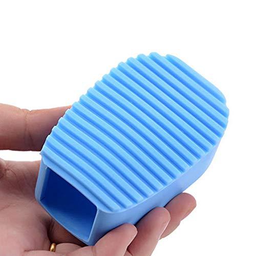 HIUGHJ Haushaltsreinigung Candy Farbe SilikonMini Waschbrett 1 stück Wäsche Waschen Bord Hand Waschbürste Rutschfeste Kleine Waschbretter