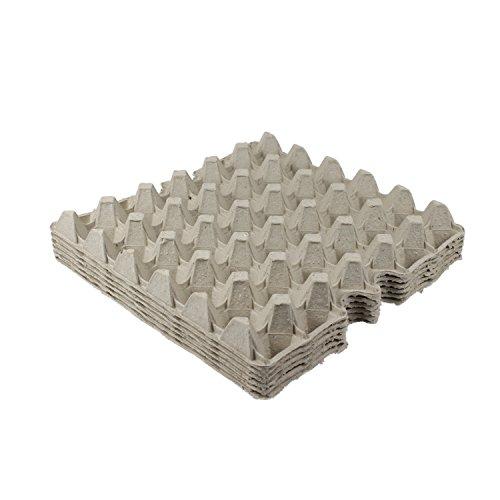 BODA Creative Eierpappe für 30 Eier, Grau, 6 Stück