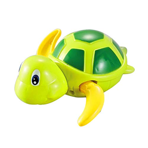 Barlingrock Schwimmbad Tauchen Stick Bad Wasser Spielzeug Unterwasser Schwimmen Strand Spielzeug kleine Schildkröte Schwimmen auf der Kette für Kinder Baby Bad Bad Pool Bad Spielzeug niedlich -